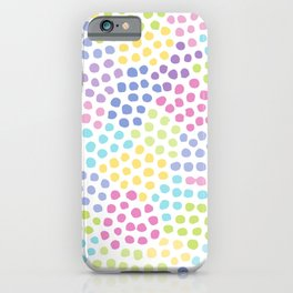 Fig. 054 Colorful Dot Pattern iPhone Case