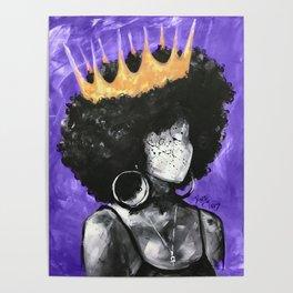Naturally Queen II PURPLE Poster