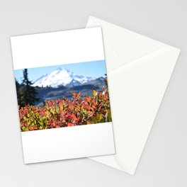 Primary Colors - Mount Baker, Washington State Stationery Cards