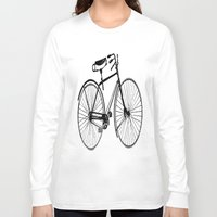 copenhagen Long Sleeve T-shirts featuring Copenhagen  by PaperandPaintbrush