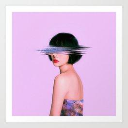 blurr Art Print