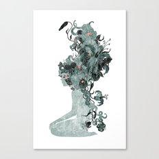 Freya's Hair (Teal) Canvas Print