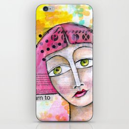 Return To Pink iPhone Skin