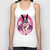 cherry blossom Tank Tops featuring Cherry Blossom by Wendy Stephens