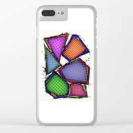 Balancing act Clear iPhone Case
