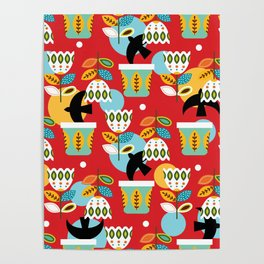Mexican garden Poster