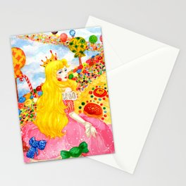 Candy Princess from Fairy Tales Stationery Cards