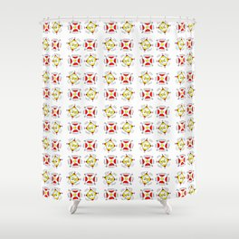 abstraction and game – abstraction,abstract,minimalism Shower Curtain