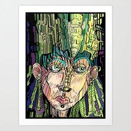 """""""The Jade Empress"""" 2013 Color Art Print"""