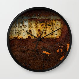 Holbeck & Son Wall Clock