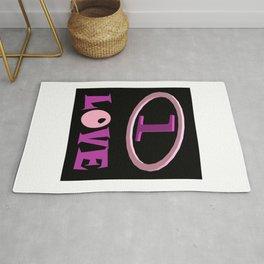 One Love One Heart Rug