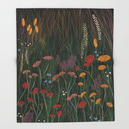 Meadow 1 Throw Blanket