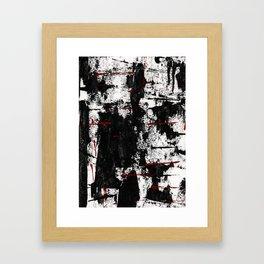 collapsing Framed Art Print