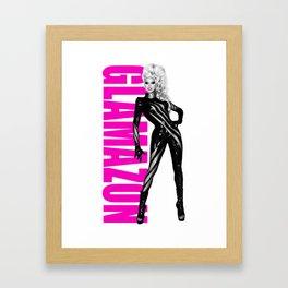 Glamazon - Rupaul Framed Art Print