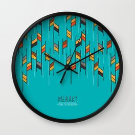Do it the MERAKI's way Wall Clock