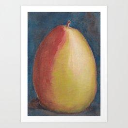 Pear Painting Art Print