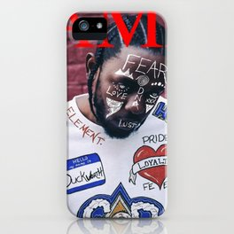 Kendrick Lamar - DAMN. Alternate Album Artwork Cover iPhone Case