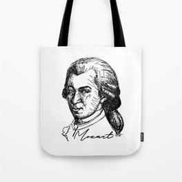Wolfgang Amadeus Mozart sketch Tote Bag