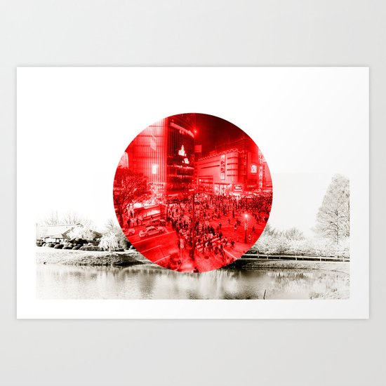 Land of the Rising Sun Art Print