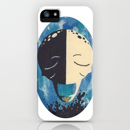Splitaparts iPhone Case