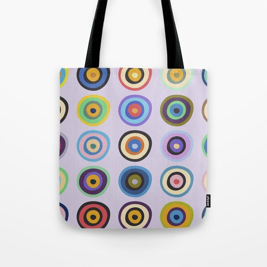 Colorful Circles VI Tote Bag