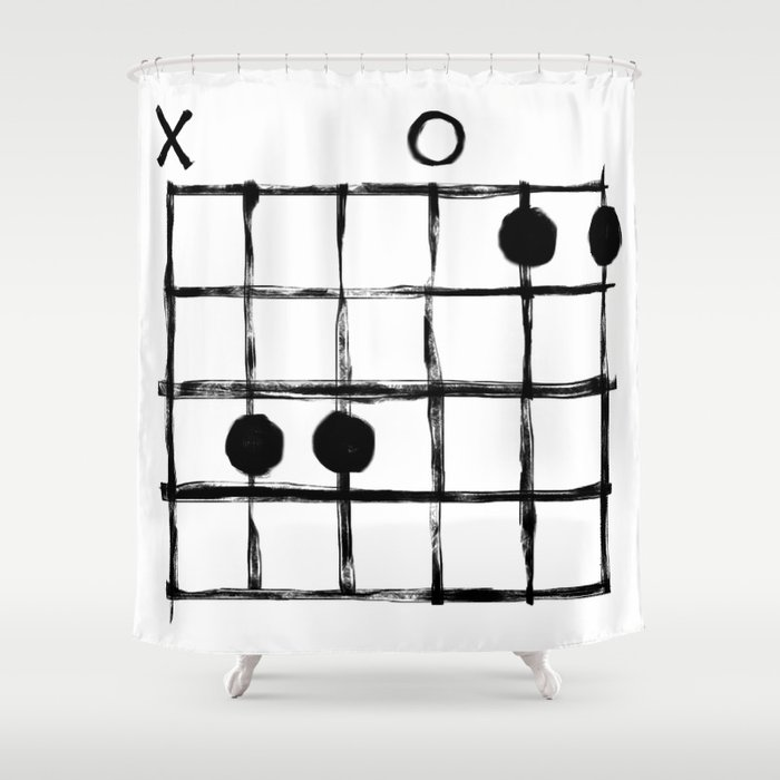 Csus Chord Shower Curtain by csus | Society6