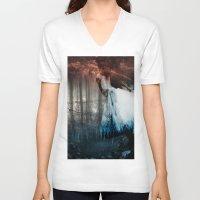 faith V-neck T-shirts featuring Faith by Shanii Renay