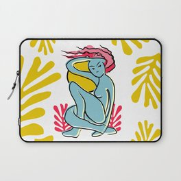 """Woman Spring Outdoors"" Laptop Sleeve"