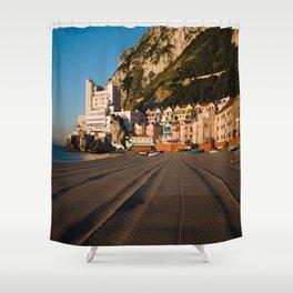 Catalan Bay, Gibraltar Shower Curtain