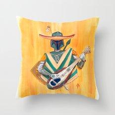 Boba Bandito Throw Pillow