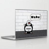 crossfit Laptop & iPad Skins featuring WABA! by khalan