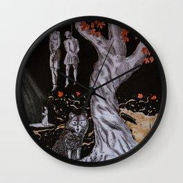 Heidinnfirar Badmr Wall Clock