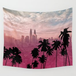 City Dream Wall Tapestry