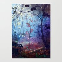 disco Canvas Prints featuring Disco by Azot