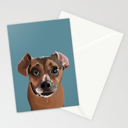 Another Cute Pup : Miss Molly Stationery Cards