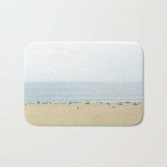 Santa Monica Beach Bath Mat