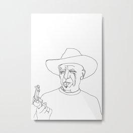 Pablo Metal Print