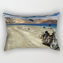 what a ride...what a feeling..! Rectangular Pillow