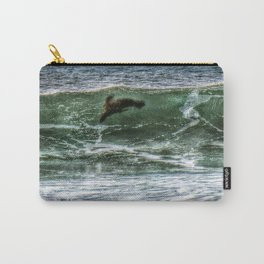 Surfin' Sea Lion Carry-All Pouch