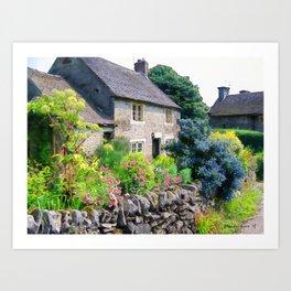 English Cottage 2 Art Print