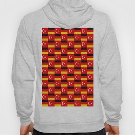 Mix of flag: Germany and turkey Hoody