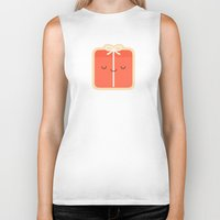 gift card Biker Tanks featuring Gift by kim vervuurt