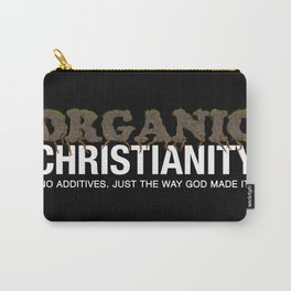 Organic Christianity Carry-All Pouch