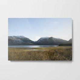 Owl Peak and Elk Ridge Metal Print
