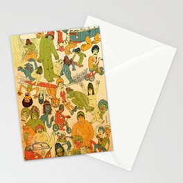 Let's Hit The Beach  Stationery Cards
