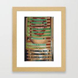 Mouth-House Framed Art Print