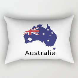 Australia Flag Rectangular Pillow
