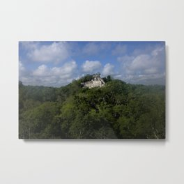 Mayan Jungle Metal Print