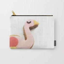 flamingo piggyback ride Carry-All Pouch