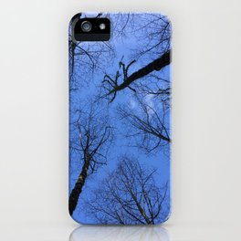 Winter Trees iPhone Case